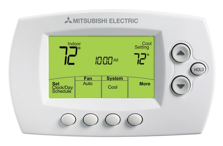 Wireless Wall-Mounted Remote Controller for Mitsubishi ductless mini split systems