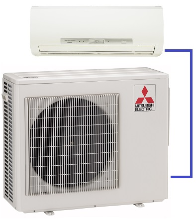 Single-room ductless units