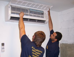 Professional ductless mini split maintenance