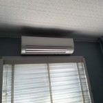 Ductless mini split installation 46