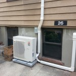 Ductless mini split installation 47