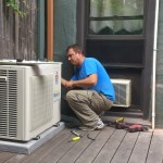 ductless mini split professional installation