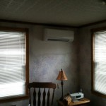 Ductless mini split installation 49