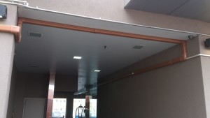 Cooling and Heating a Hotel Lobby