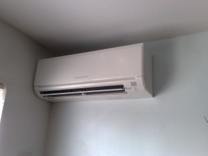 Clean ductless system interior unit