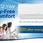 12-year worry-free comfort