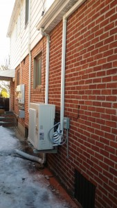 Ductless mini-split heat pumps powered by solar system