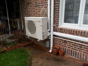 3-Zone Ductless Heat Pump System