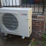 heat pump installation